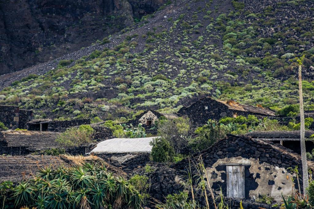 antikes Dorf auf El Hierro