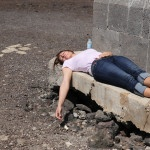 Nickerchen beim Faro de Orchilla / El Hierro