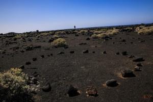 Steinkreis in den Lavafeldern auf El #Hierro