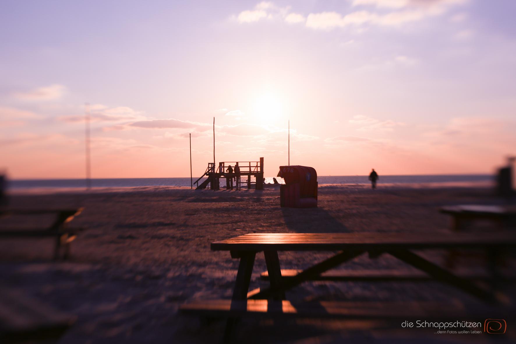 Am Ende eines Strandtages auf Amrum