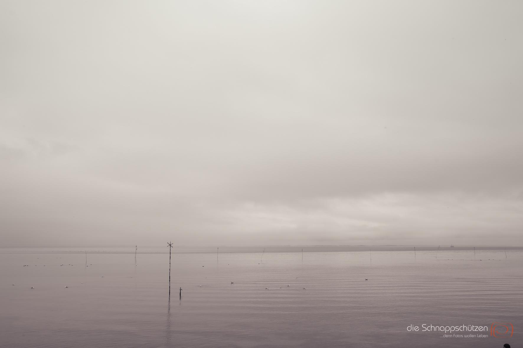 stille Wasser auf Amrum