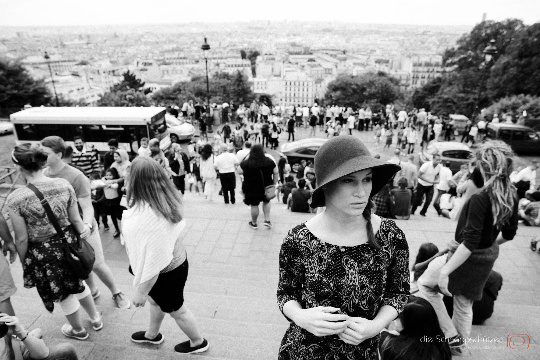 Street Photography in Paris am Montmartre