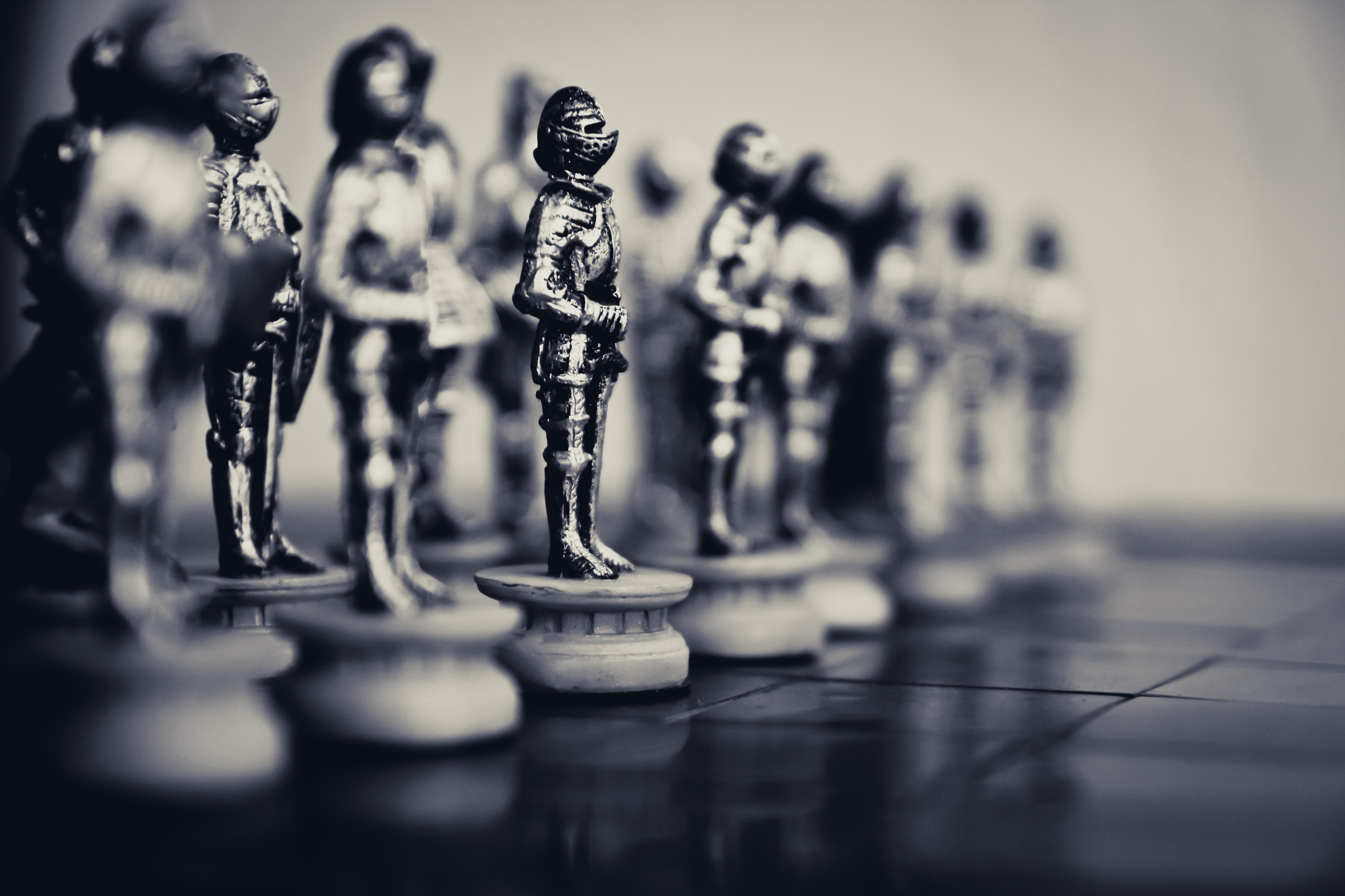 der Herrscher und das Schach des Lebens