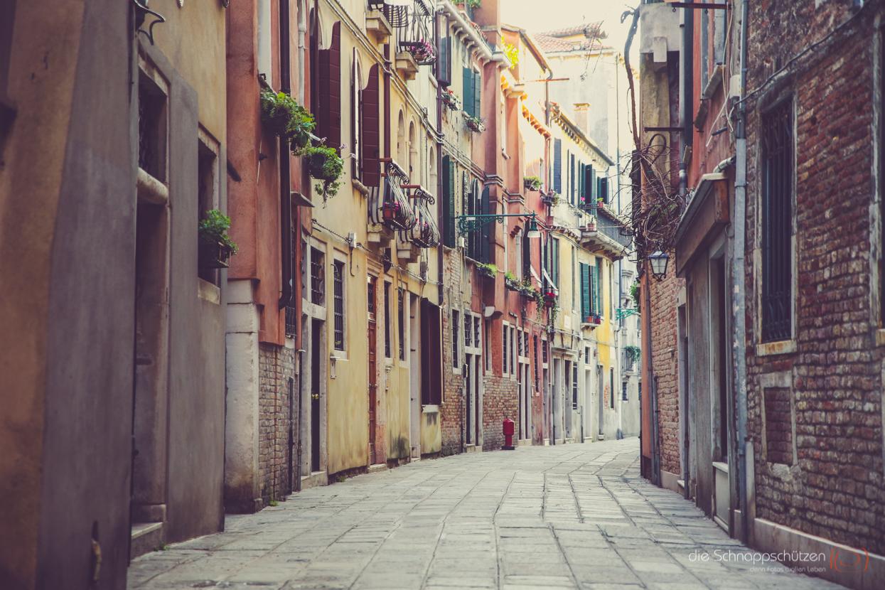 die Gassen Venedigs