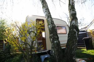 Wohnwagen restaurieren