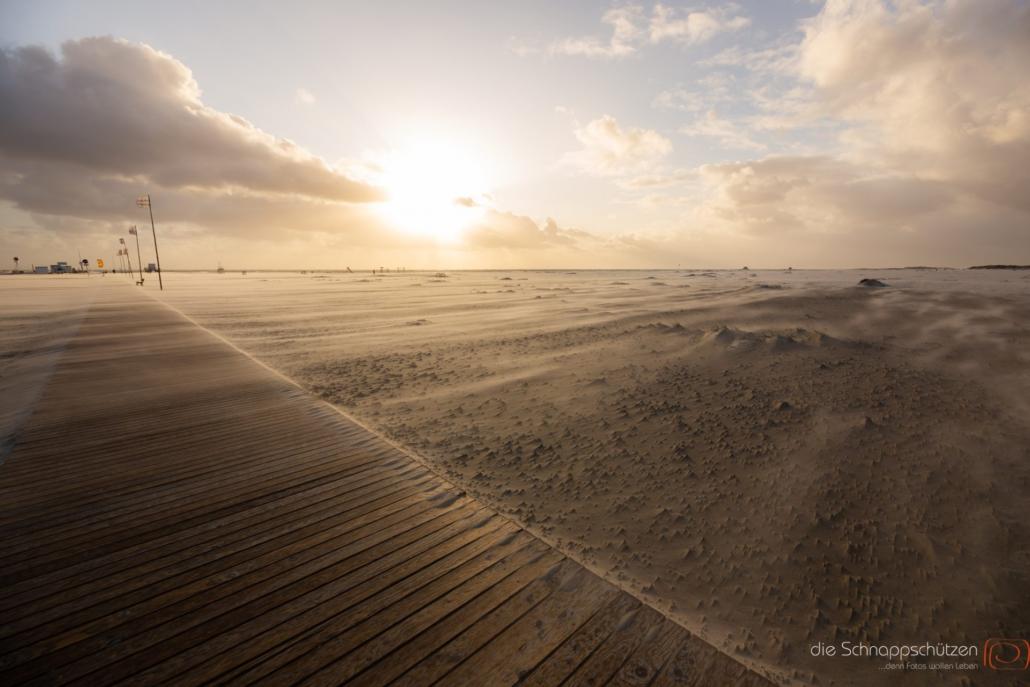 Amrum im Sandsturm