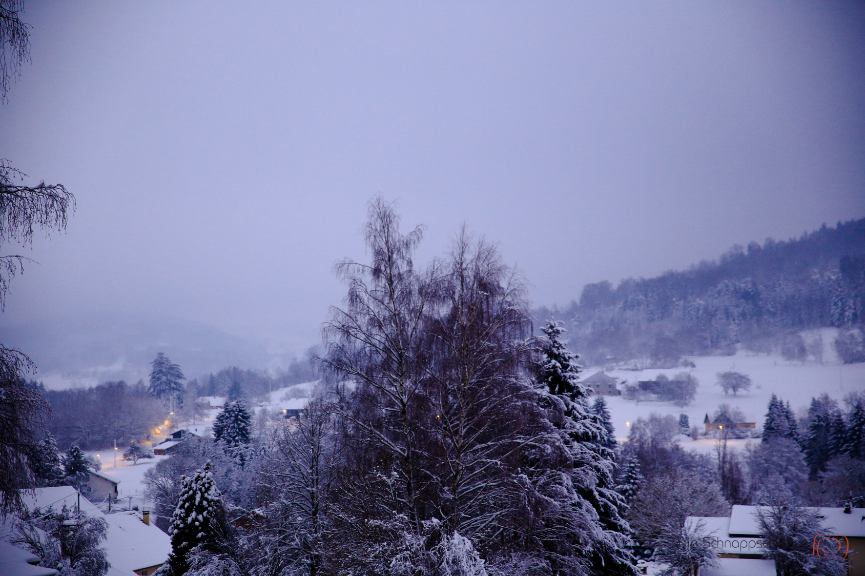 Vogesen im Winter