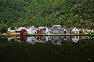 Häuser bei Laerdal