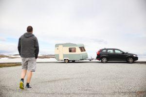 Norwegen mit Wohnwagen