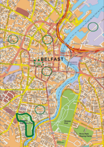 belfast map