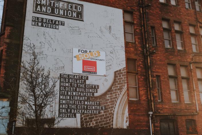 Murals auf der Shankill Road Belfast